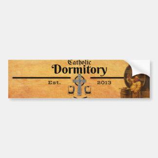 The Catholic Dormitory Sticker Bumper Sticker