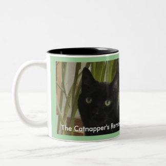 The Catnapper's Remedy! Two-Tone Mug