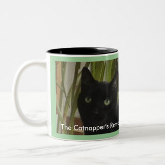 The Catnapper's Remedy! Two-Tone Mug