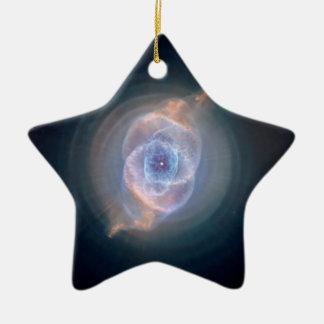 The Cat's Eye Nebula Ceramic Star Decoration
