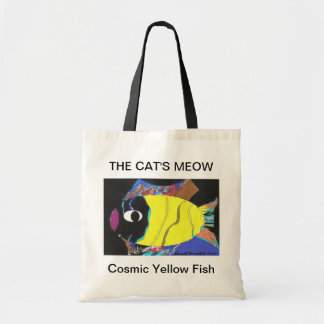 THE CAT'S MEOW TOTE BAGS