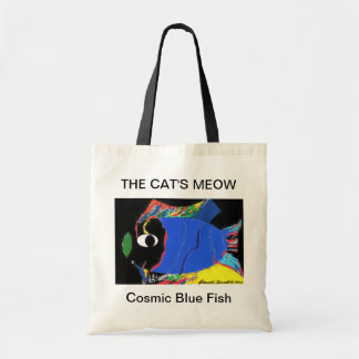 THE CAT'S MEOW BUDGET TOTE BAG
