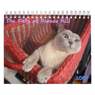 The Cats of Swede Hill, 2009 Calendar