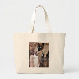 The Cats Jumbo Tote Bag