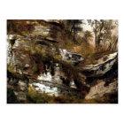 The Catskills Rocky Cliff - Durand Postcard
