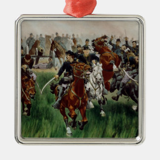The Cavalry, 1895 Christmas Ornament