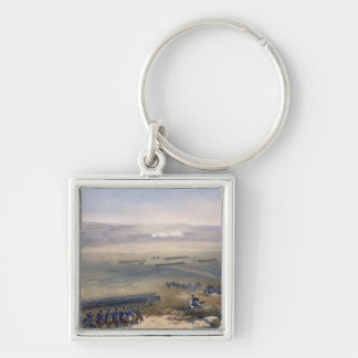 The Cavalry Affair of the Heights of Bulganak: the Silver-Colored Square Key Ring