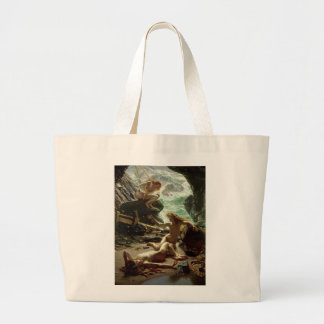 The Cave of the Storm Nymphs, 1903 (oil on canvas) Jumbo Tote Bag