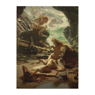 The Cave of the Storm Nymphs, 1903 (oil on canvas) Wood Canvas