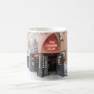 The Cavern Club in Liverpool's Mathew Street Basic White Mug