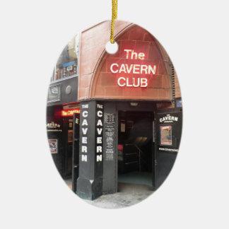 The Cavern Club in Liverpool's Mathew Street Ceramic Oval Decoration