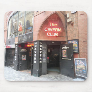 The Cavern Club in Liverpool's Mathew Street Mouse Pads