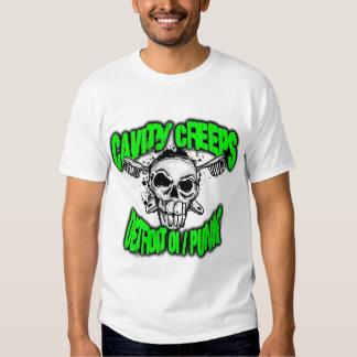"The Cavity Creeps - ""DETROIT OI/PUNK"" T-Shirt"