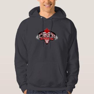 The CBSCA Men's Basic Hooded Sweatshirt Dark Grey