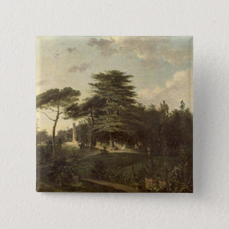 The Cedar of Lebanon in the Jardin des Plantes 15 Cm Square Badge