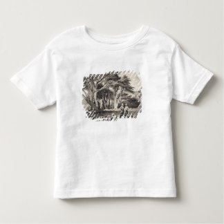 The Cedars of Lebanon, engraved by Freeman (sepia Toddler T-Shirt