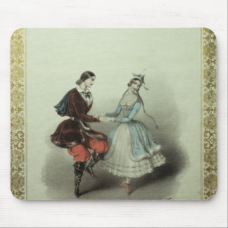 The Celebrated Polka, song sheet, 1840 Mouse Pad