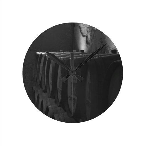 The Cellar Round Wall Clocks