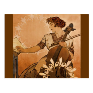 The Cellist Postcard