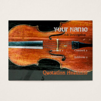 The Cello Business Card
