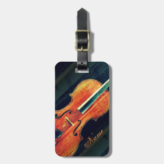 The Cello/Personalized Gifts for Cellist Luggage Tag
