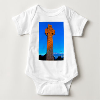The Celtic Cross Baby Bodysuit