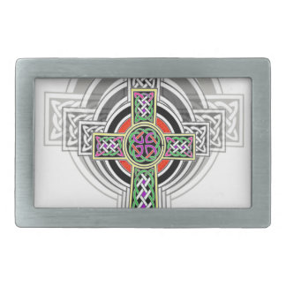 The Celtic Cross. Rectangular Belt Buckle