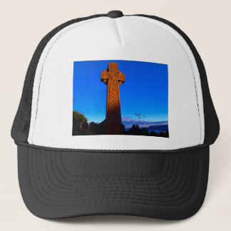 The Celtic Cross Trucker Hat