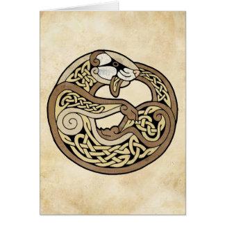 The Celtic Ferret Card