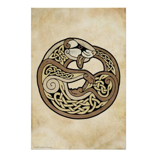 The Celtic Ferret Poster