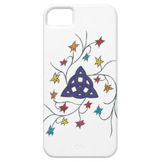 The Celtic Trinity, purple iPhone 5 Cover