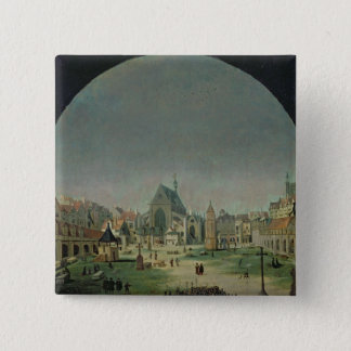 The Cemetery of the Innocents 15 Cm Square Badge