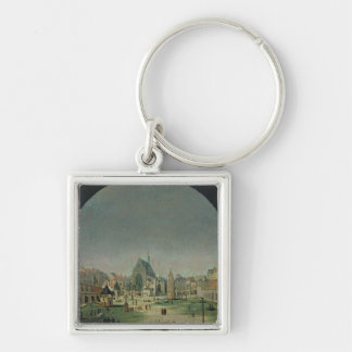 The Cemetery of the Innocents Silver-Colored Square Key Ring