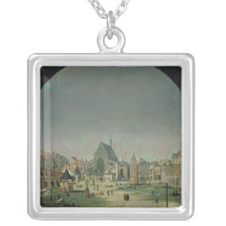 The Cemetery of the Innocents Silver Plated Necklace