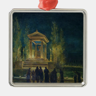 The Cenotaph of Jean Jacques Rousseau Christmas Ornament