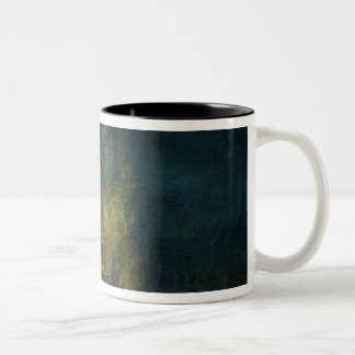 The Cenotaph of Jean Jacques Rousseau Two-Tone Coffee Mug