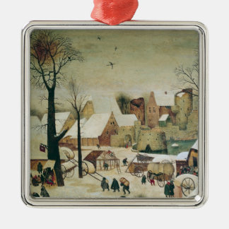 The Census at Bethlehem Christmas Ornament