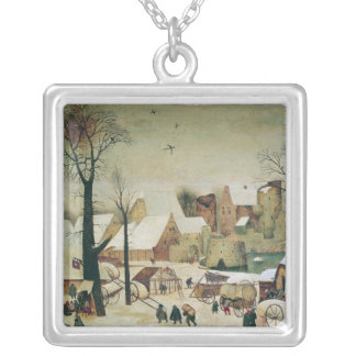 The Census at Bethlehem Silver Plated Necklace