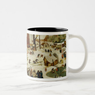 The Census at Bethlehem Two-Tone Coffee Mug