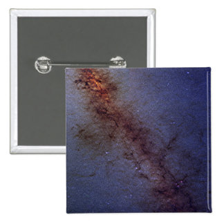 The center of our Milky Way Galaxy 15 Cm Square Badge
