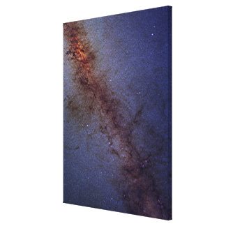 The center of our Milky Way Galaxy Canvas Print