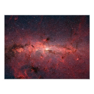 The center of the Milky Way Galaxy Art Photo