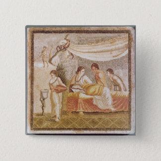 The Centocelle Mosaic 15 Cm Square Badge