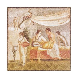 The Centocelle Mosaic Canvas Print