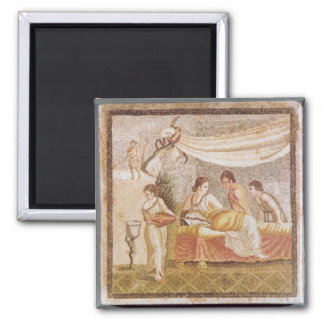 The Centocelle Mosaic Refrigerator Magnets