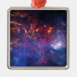 The central region of the Milky Way galaxy Christmas Ornament