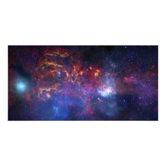 The central region of the Milky Way galaxy Photo Art