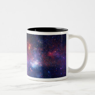The central region of the Milky Way galaxy Two-Tone Coffee Mug