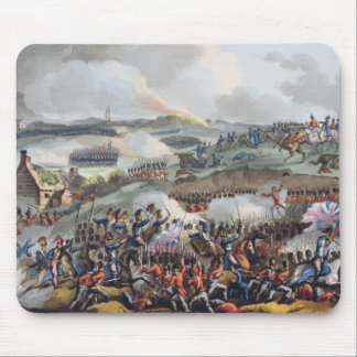The Centre of the British Army in Action at the Ba Mouse Pad