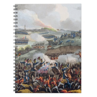 The Centre of the British Army in Action at the Ba Notebook